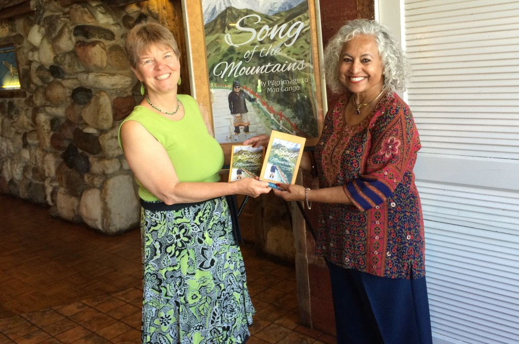 Author Shakuntala Rajagopal and business owner April M. Williams